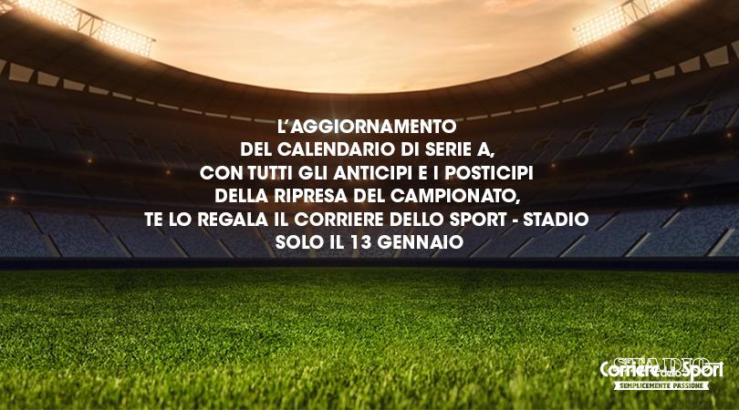Calendario Serie A Domani.L Aggiornamento Del Calendario Di Serie A Domani Gratis In